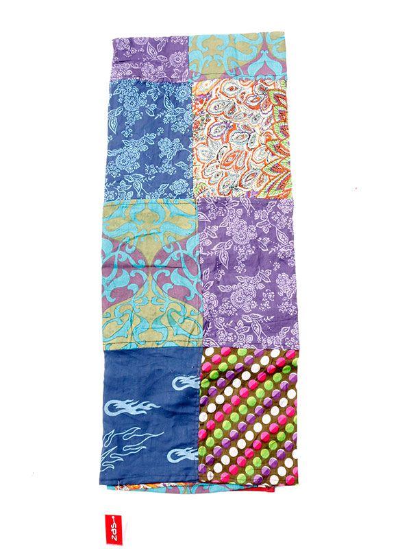 Pañuelos Fulares Pareos - Pareo hippie patchwork estampado. [FUHC01] para comprar al por mayor o detalle  en la categoría de Complementos Hippies Étnicos Alternativos.