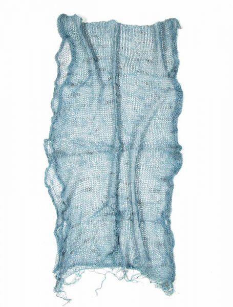Pañuelos Fulares Pareos - Fular de Lino Ganchillo. [FUHE01] para comprar al por mayor o detalle  en la categoría de Complementos Hippies Étnicos Alternativos.