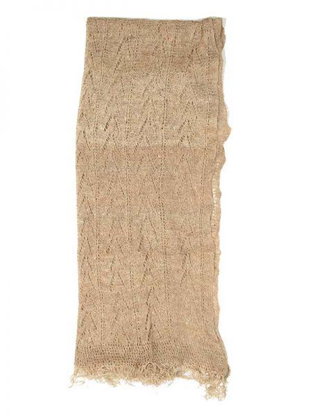 Fular realizado a mano en ganchillo con fibras de ortiga orgánica, Comprar - Venta Mayorista y detalle
