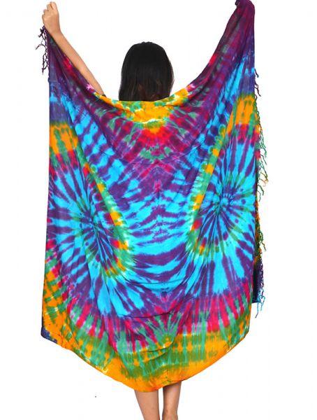 Pareo Playa vestido Tie Dye - Detalle Comprar al mayor o detalle