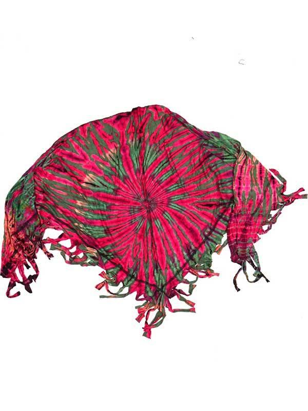 Chal Triangular Multiuso Tie Dye [FUJU02] para comprar al por Mayor o Detalle en la categoría de Pañuelos Fulares y Pareos