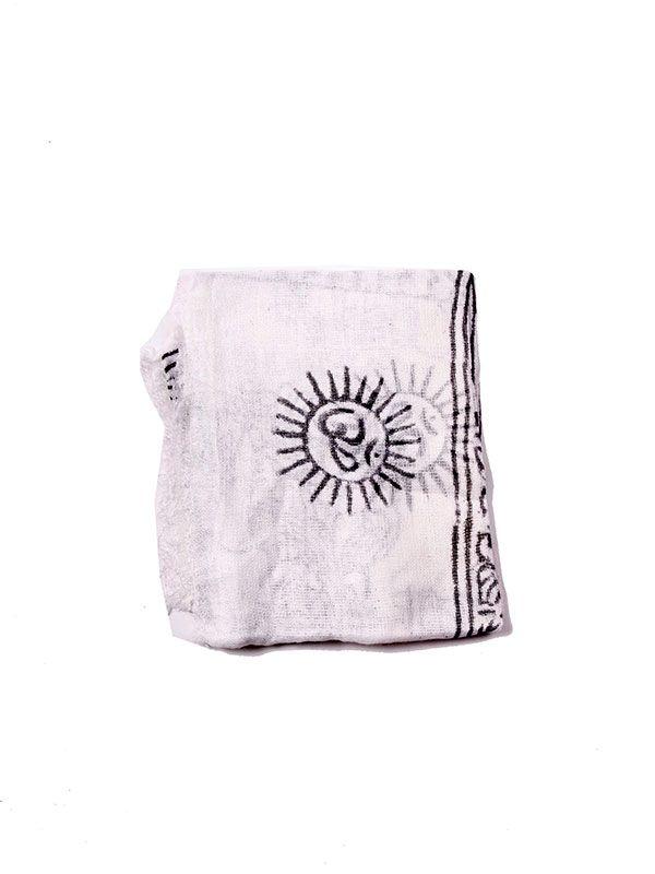 Pañuelo Hare Rama Grande - Blanco Comprar al mayor o detalle