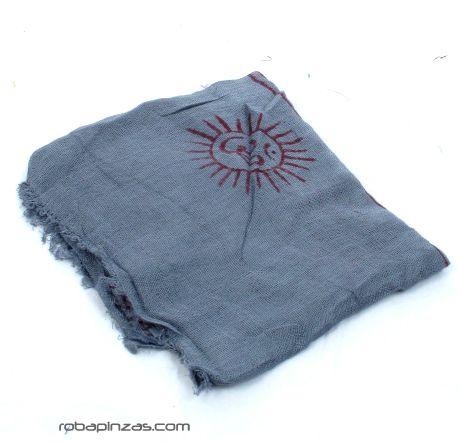 Pañuelos Fulares Pareos - Pañuelo Hare Rama Mediano [FUKA02] para comprar al por mayor o detalle  en la categoría de Complementos Hippies Alternativos.