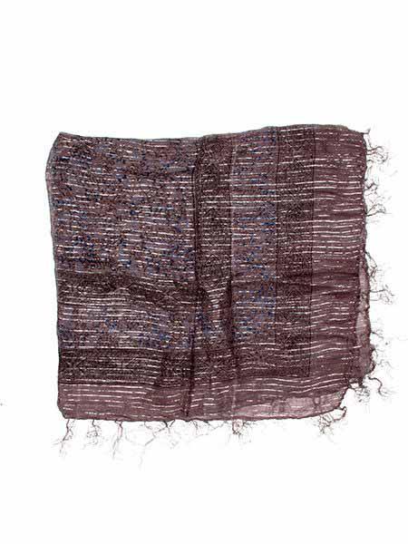 Pañuelos Fulares y Pareos - Foulard viscosa, brillos [FUKA08] para comprar al por mayor o detalle  en la categoría de Complementos Hippies Alternativos.