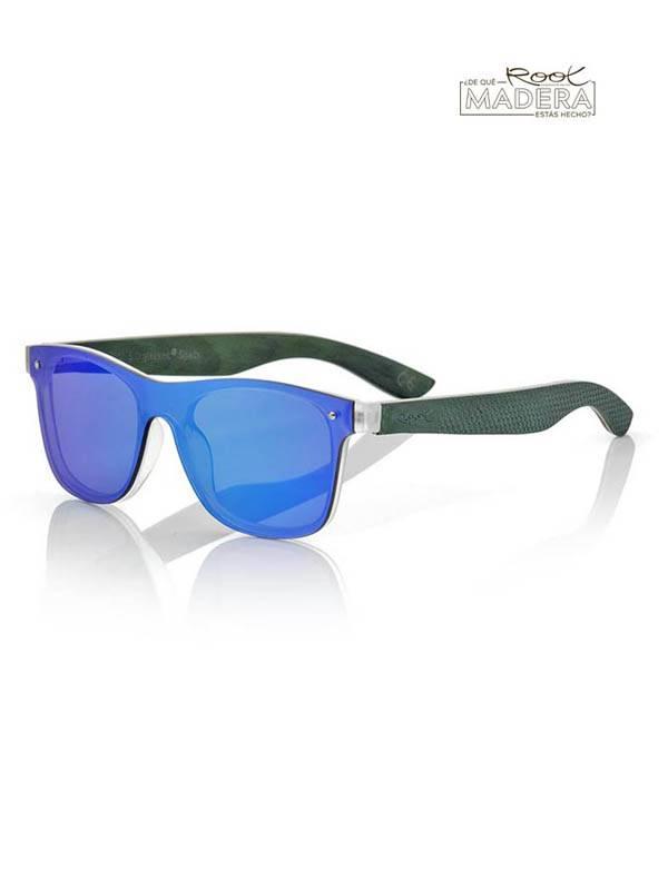 Gafas de sol de Madera SKY GREEN [GFFR27] para comprar al por Mayor o Detalle en la categoría de Gafas de Sol de Madera Root