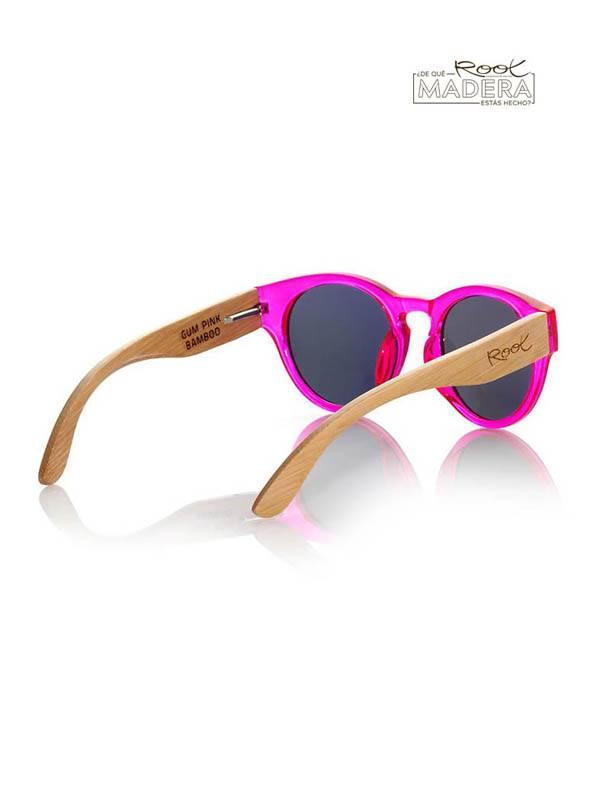 Gafas de sol de Madera GUM PINK MX - Detalle Comprar al mayor o detalle