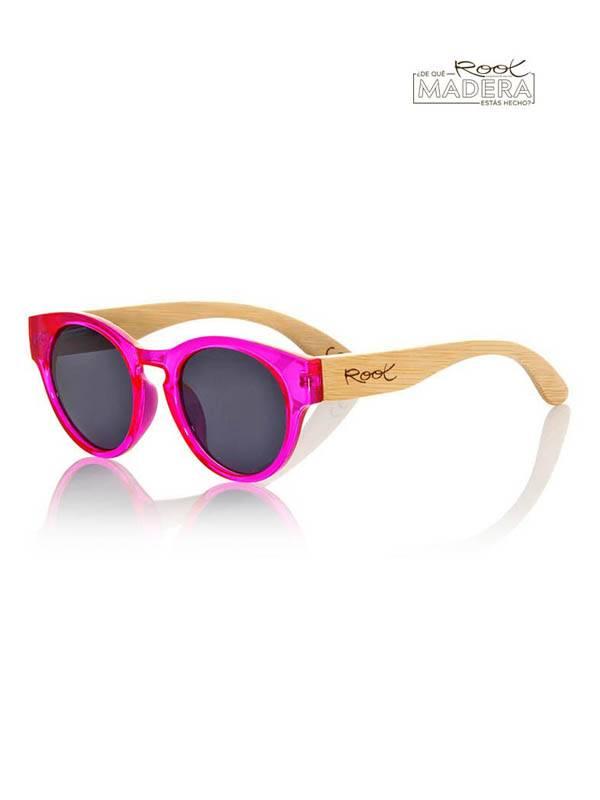 Gafas de sol de Madera GUM PINK MX [GFJA10] para comprar al por Mayor o Detalle en la categoría de Gafas de Sol de Madera Root
