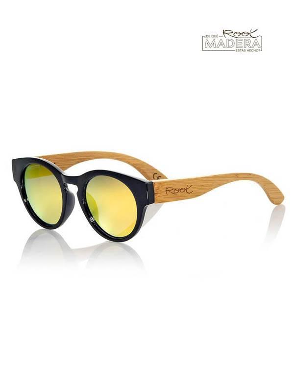 Gafas de Sol de Madera Root - Gafas de sol de Madera GUM BLACK MX GFJA12 para comprar al por Mayor o Detalle en la categoría de Complementos Hippies Alternativos