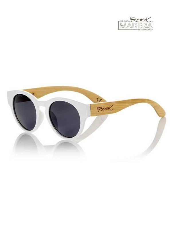 Gafas de Sol de Madera Root - Gafas de sol de Madera GUM WHITE MX GFJA13 para comprar al por Mayor o Detalle en la categoría de Complementos Hippies Alternativos