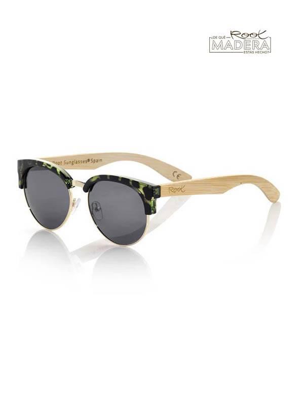 Gafas de sol de Madera DUNE CYAN MX [GFJA30] para comprar al por Mayor o Detalle en la categoría de Gafas de Sol de Madera Root