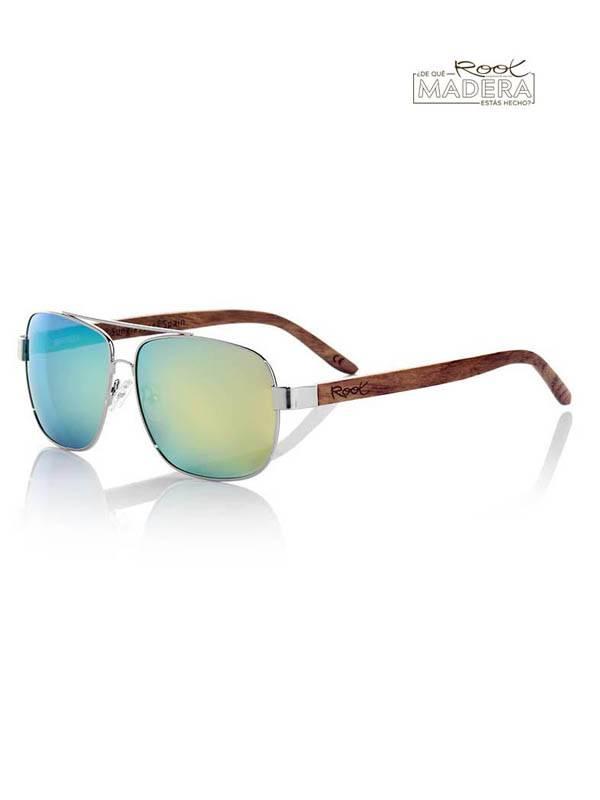 Gafas de Sol de Madera Root - Gafas de sol de Madera MOSCOW GFJA32 para comprar al por Mayor o Detalle en la categoría de Complementos Hippies Alternativos