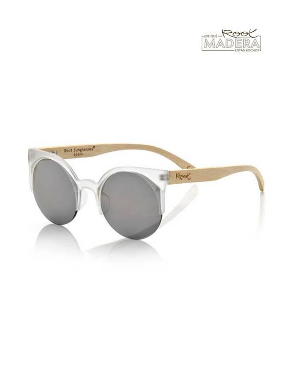 Gafas de Sol de Madera Root - Gafas de sol de Madera CAT TR MIX GFJA42 para comprar al por Mayor o Detalle en la categoría de Complementos Hippies Alternativos
