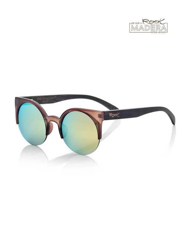 Gafas de sol de Madera CAT BROWN MIX [GFJA44] para comprar al por Mayor o Detalle en la categoría de Gafas de Sol de Madera Root