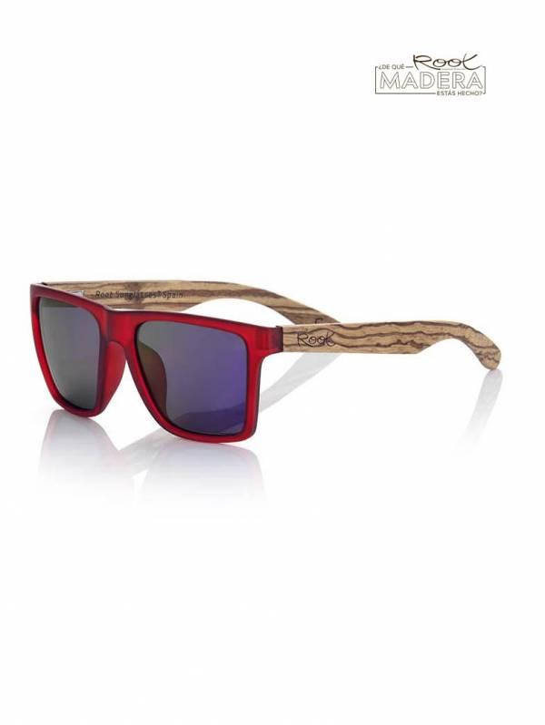 Gafas de sol de Madera RUN RED MIX [GFJA50] para comprar al por Mayor o Detalle en la categoría de Gafas de Sol de Madera Root