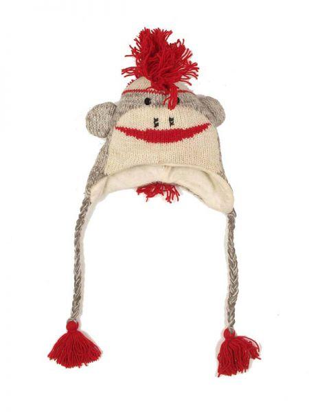 Gorros de lana hechos a mano con formas de cabezas de diferentes animales, Comprar - Venta Mayorista y detalle