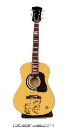 Guitarras eléctricas y acusticas. Miniaturas hechas al super-detalle GUI2_B para comprar al por mayor o detalle  en la categoría de Artículos Artesanales.