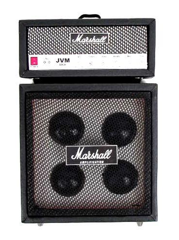 Miniatura amplificador Marshall realizado a mano en madera, altura GUI7 para comprar al por mayor o detalle  en la categoría de Artículos Artesanales.