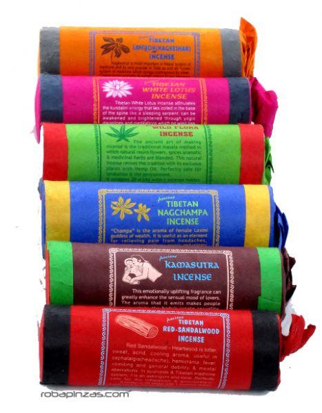 - Incienso tibetano natural sin madera [IN11] para comprar al por mayor o detalle  en la categoría de Complementos Hippies Alternativos.