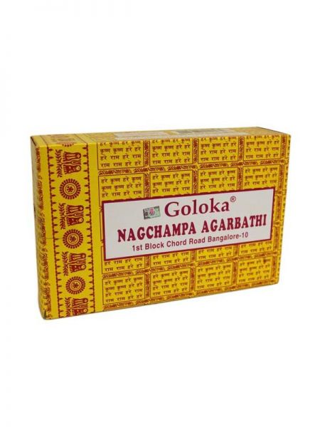 Incienso Goloka Nag Champa Agarbatti - Detalle Comprar al mayor o detalle
