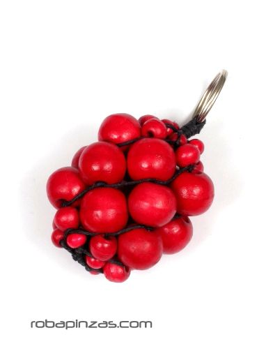 Laavero racimos de bolas de madera de colores LLBOU01 para comprar al por mayor o detalle  en la categoría de Complementos Hippies Étnicos Alternativos.