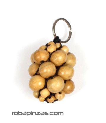 Laavero racimos de bolas de madera de colores - Natural Comprar al mayor o detalle