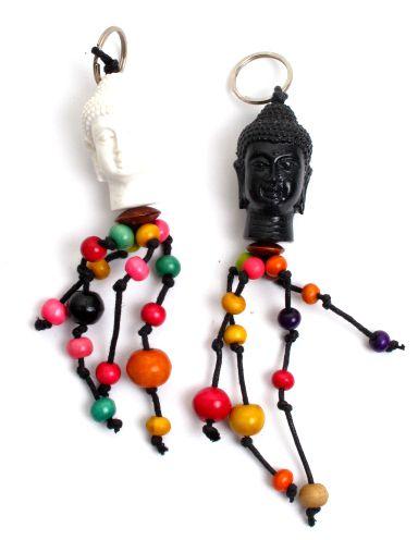 Llavero cabeza de buda con bolas de colores - detalle Comprar al mayor o detalle
