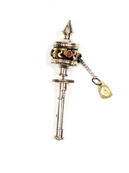Bisutería Tibetana - Molino de plegarias tibetano Miniatura LLMP01 para comprar al por Mayor o Detalle en la categoría de Bisutería Hippie Étnica Alternativa