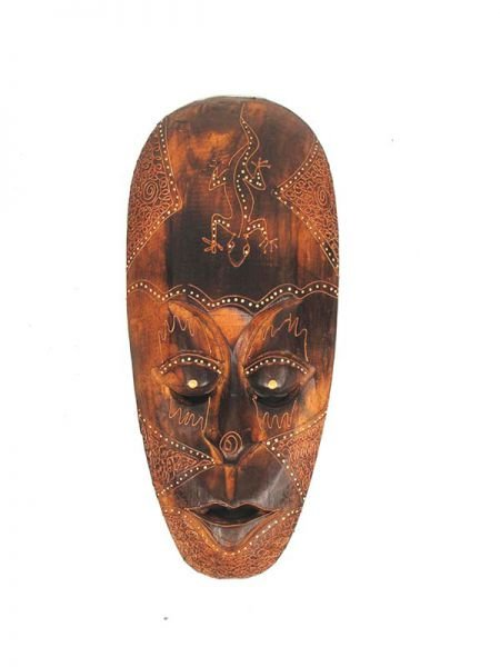 Mascara étnica tribal 40cm Comprar - Venta Mayorista y detalle