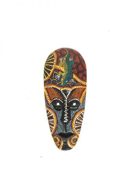 Máscara étnica tribal dotpaint 33cm Comprar - Venta Mayorista y detalle