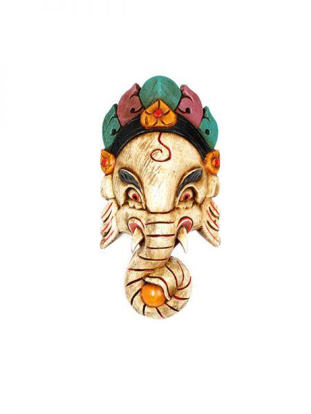 máscaras ganesha realizadas en madera y decoradas a mano por Comprar - Venta Mayorista y detalle