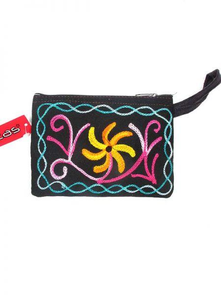 Monedero tibet bordado tamaño grande MOKA02 para comprar al por mayor o detalle  en la categoría de Complementos Hippies Étnicos Alternativos.