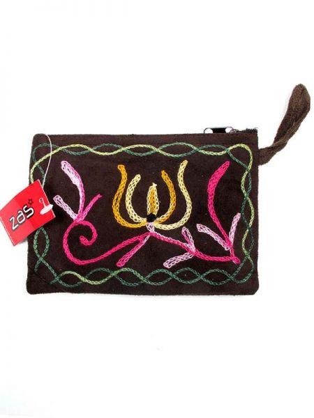 Carteras / Monederos - Monedero tibet bordado tamaño grande [MOKA02] para comprar al por mayor o detalle  en la categoría de Complementos Hippies Alternativos.