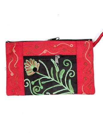 Neceser tibet bordado con cremallera [MOKA07] para Comprar al mayor o detalle