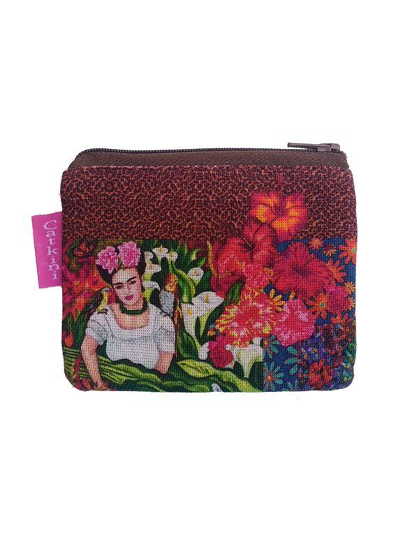 Monedero Grande Estampados Frida Kahlo. Comprar - Venta Mayorista y detalle