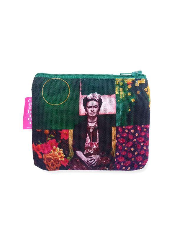 Colección Catkini - Frida Kahlo - Monedero Grande Estampados Frida Kahlo. [MOSMPO] para comprar al por mayor o detalle  en la categoría de Complementos Hippies Étnicos Alternativos.