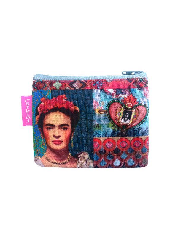 Monedero Grande Estampados Frida Kahlo. [MOSMPO] para Comprar al mayor o detalle