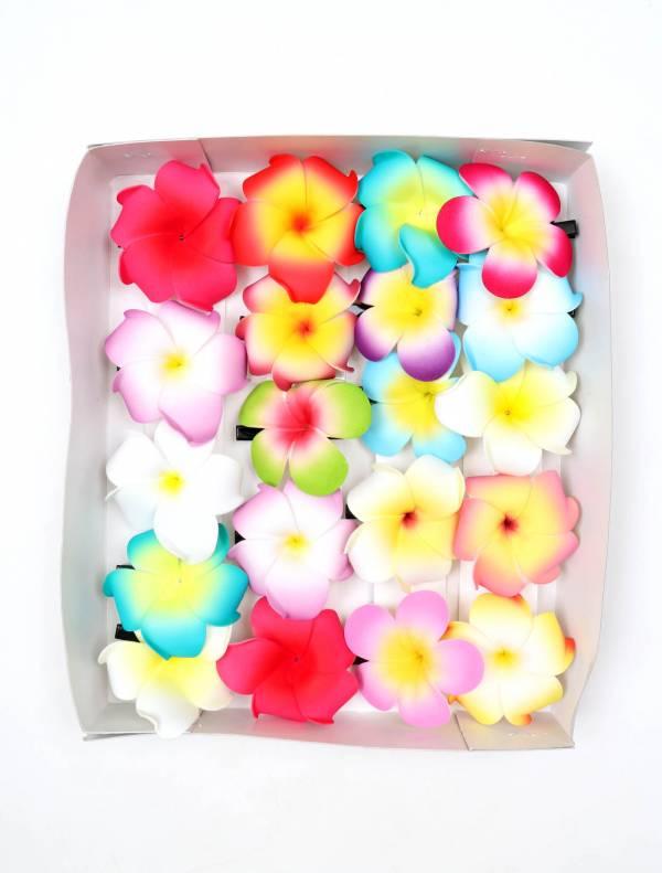 Flores pinza para pelo - Detalle Comprar al mayor o detalle