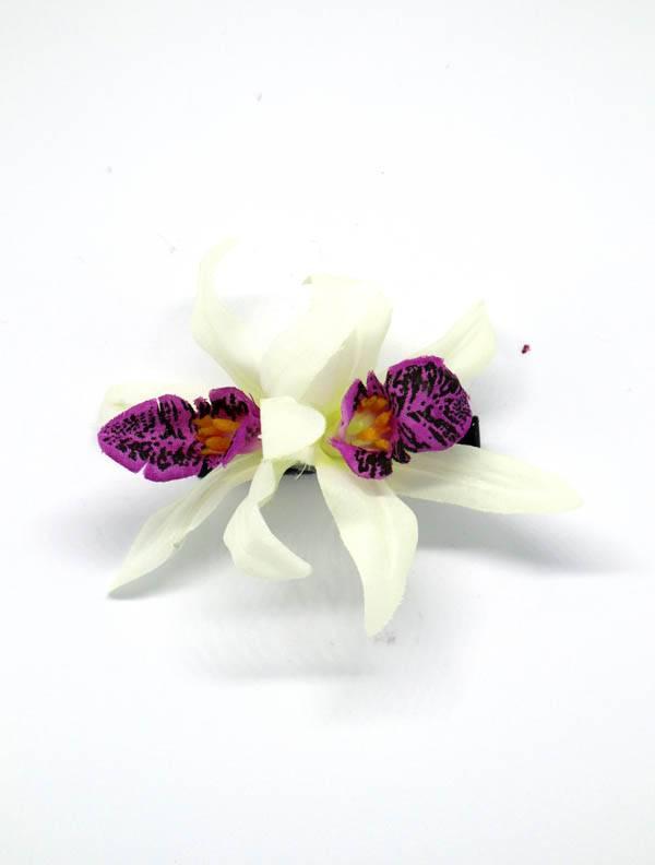 Flores con pinza de tela - M2015 Comprar al mayor o detalle