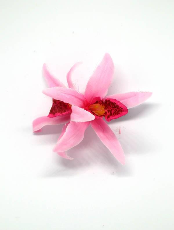 Flores con pinza de tela [ORFLT] para comprar al por Mayor o Detalle en la categoría de Cintas pelo / Máscaras