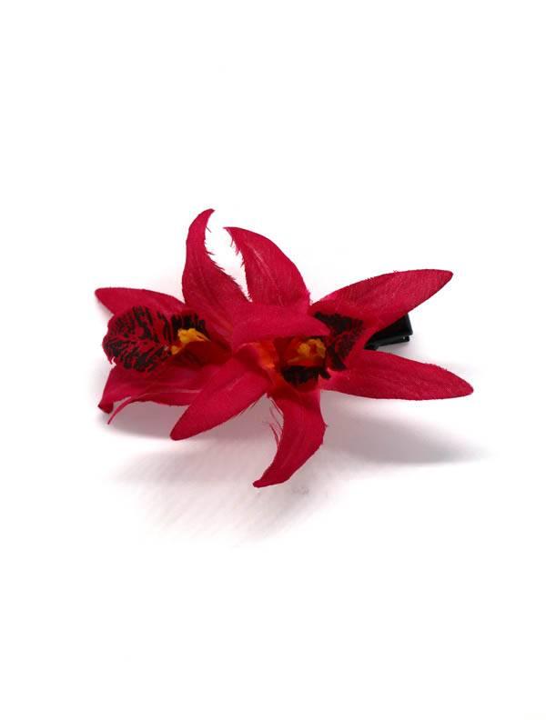 Flores con pinza de tela - M2013 Comprar al mayor o detalle