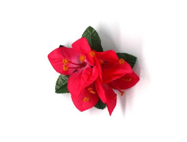 Flores con pinza de tela - M207 Comprar al mayor o detalle
