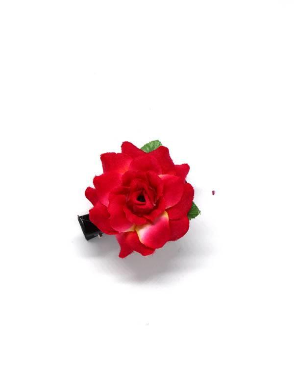 Flores con pinza de tela - M2011 Comprar al mayor o detalle