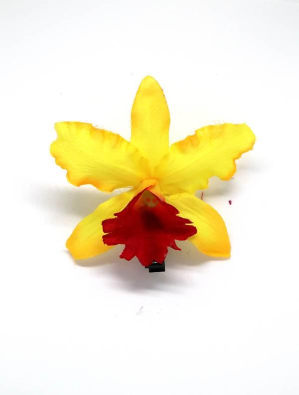Flores con pinza de tela - M206 Comprar al mayor o detalle