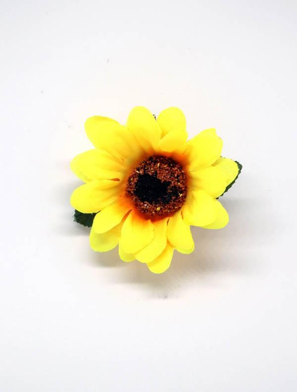 Flores con pinza de tela - M2012 Comprar al mayor o detalle