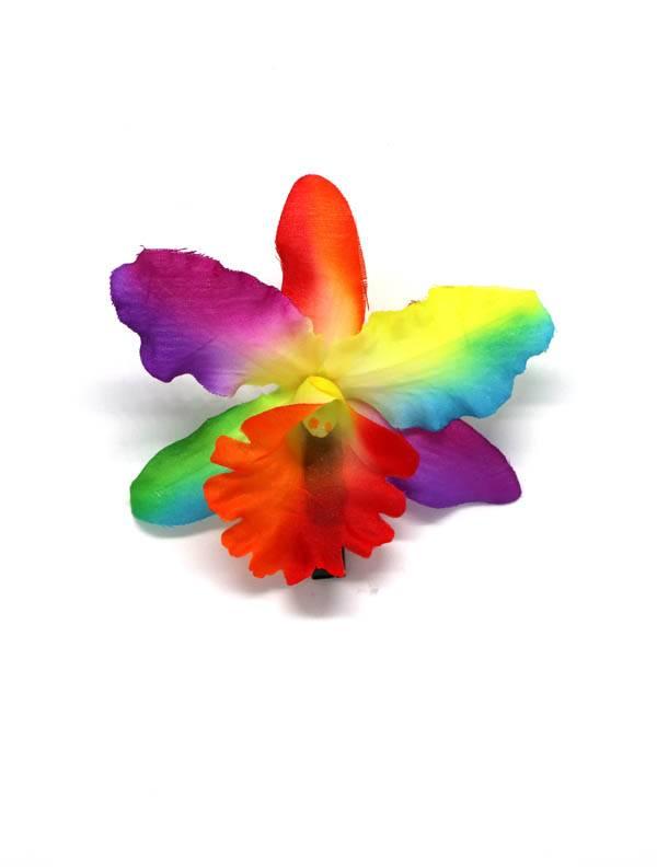 Flores con pinza de tela - M2010 Comprar al mayor o detalle