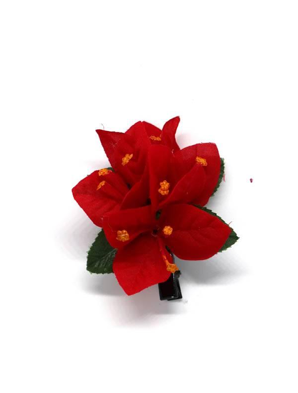 Flores con pinza de tela - M209 Comprar al mayor o detalle