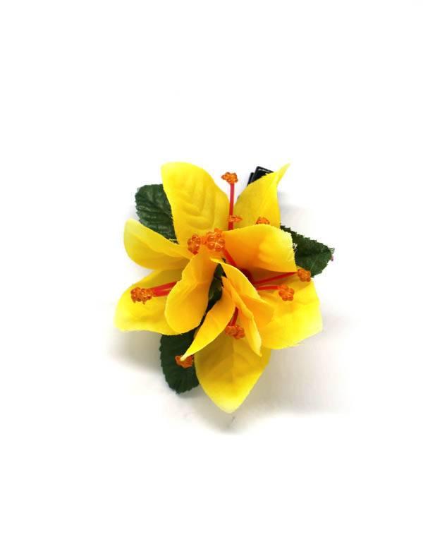 Flores con pinza de tela - M204 Comprar al mayor o detalle