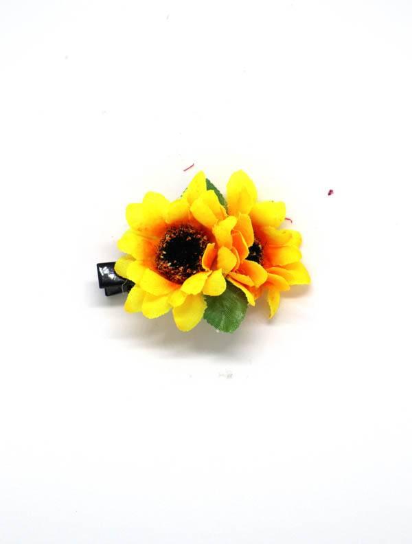 Flores con pinza de tela - M2014 Comprar al mayor o detalle