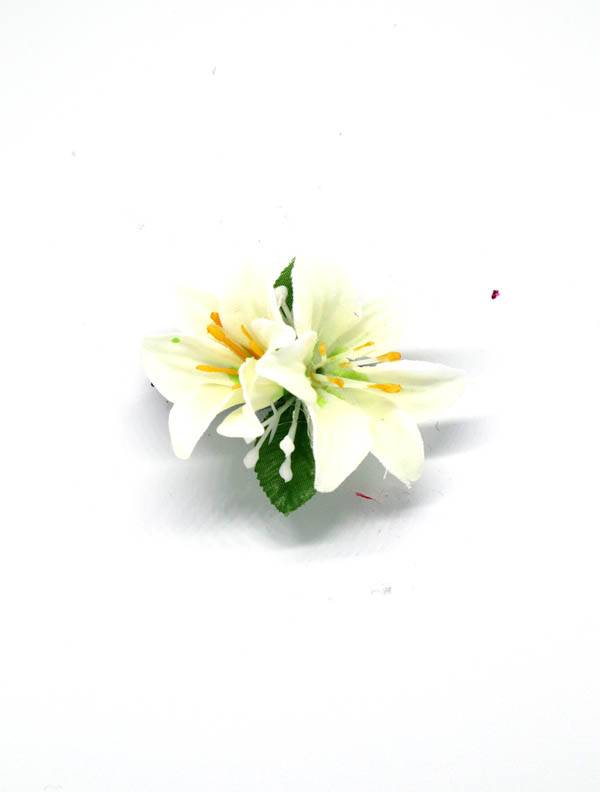 Flores con pinza de tela - M2017 Comprar al mayor o detalle