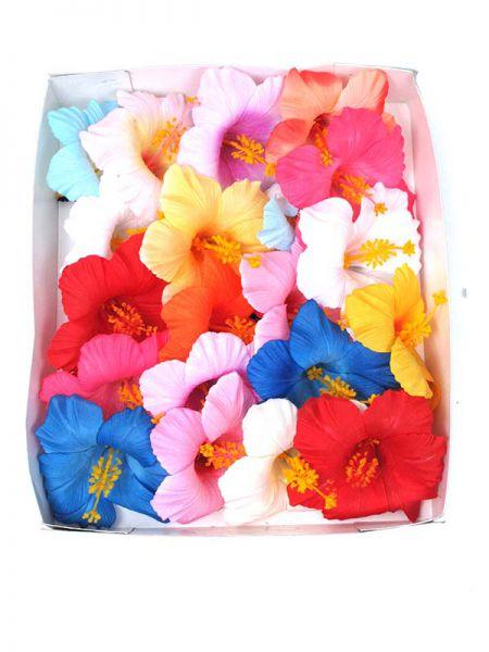 Flores pelo con pinza realizadas con tela tamaño grande, Comprar - Venta Mayorista y detalle